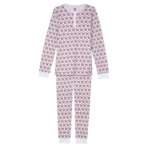 Brai Pyjama Tiger Pink Women Slaapkopje