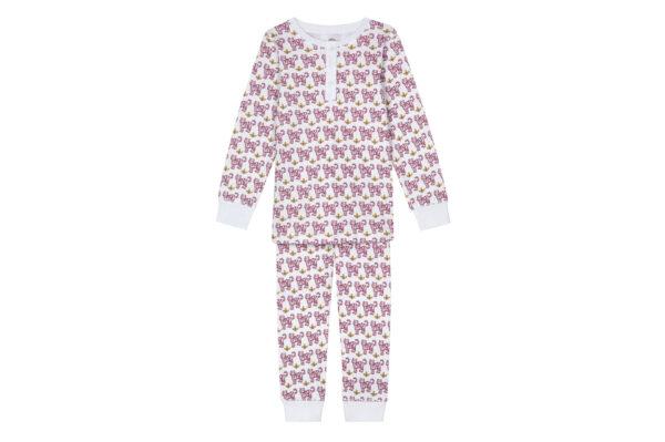 Brai Pyjama Tiger Pink Kind Slaapkopje
