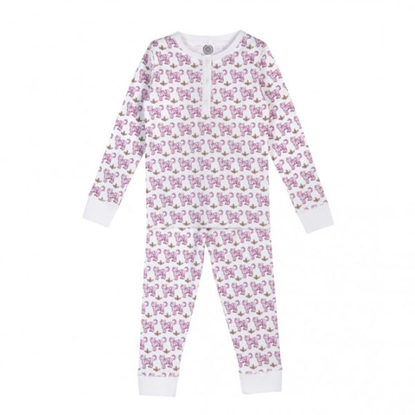 Brai children's pajamatiger pink Sleeping Cup