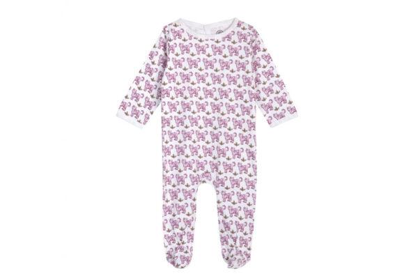 Brai babypyjama Tiger Pink Slaapkopje