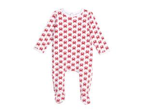 Brai babypyjama krab rood
