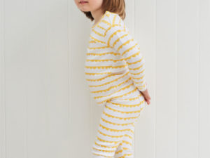 Bob Blossom kinder pyjama Yellow