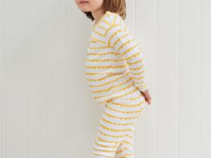 Bob Blossom kinder pyjama Yellow