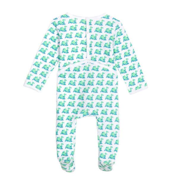 Babypyjama Brai Kameel groen