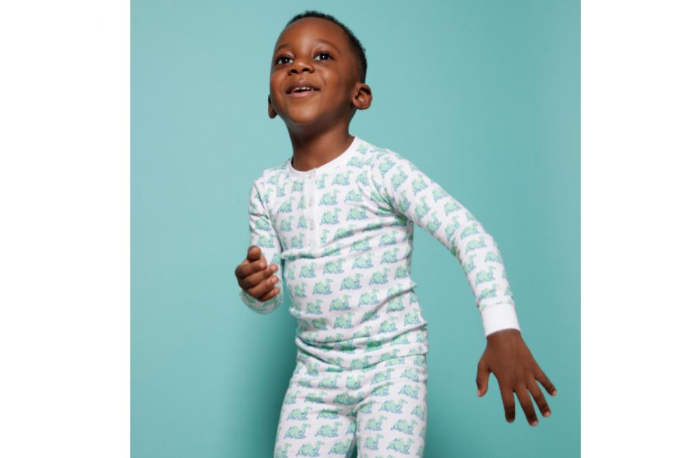 Brai Kinderpyjama Kameel Groen meisjes jongens pyjama