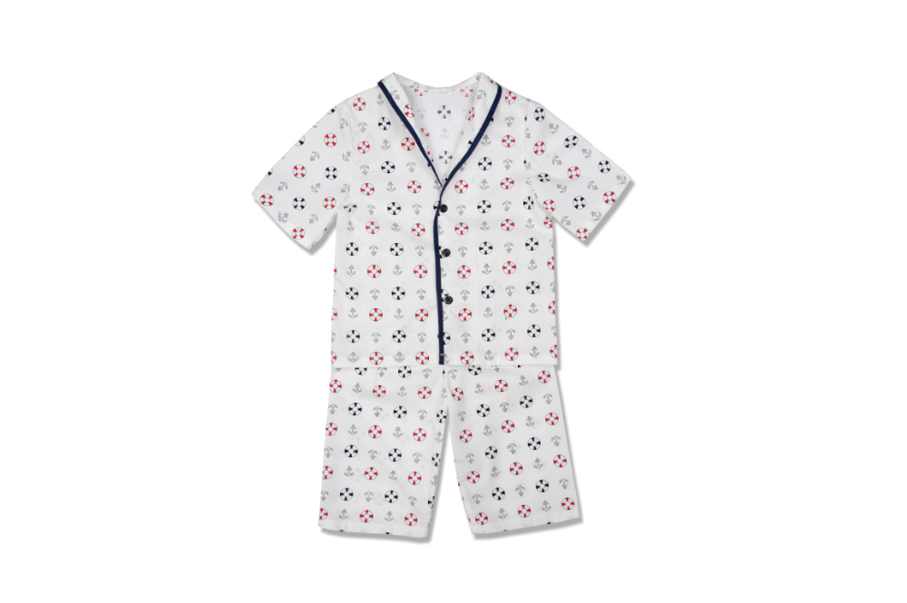 Amiki Samuel Sailor short pyjama