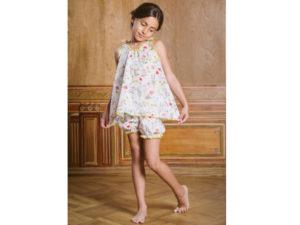 Short pyjama Amiki Lauren Floral