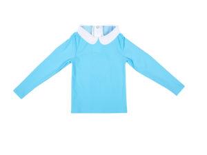 Happy Duck Anti UV Shirt Blauw Slaapkopje