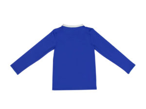 HappyDuck AntiUV Shirt Jongens Royal Blauw