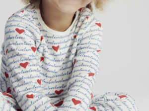 Mori Love Pyjama Kind Slaapkopje