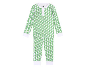 Brai kinderpyjama Matcha Monkey Green