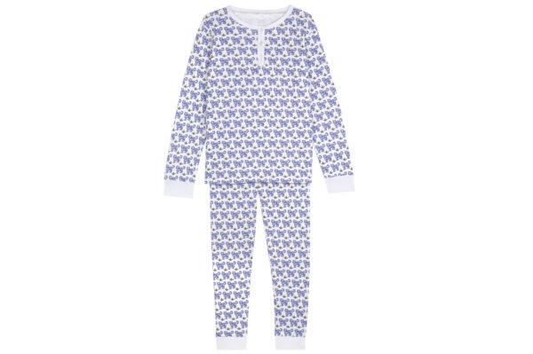 Brai Mama Pyjama Tijger Blauw dames
