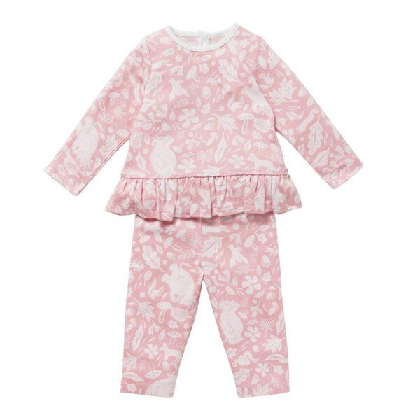 Mori pyjama roze Gruffalo Slaapkopje