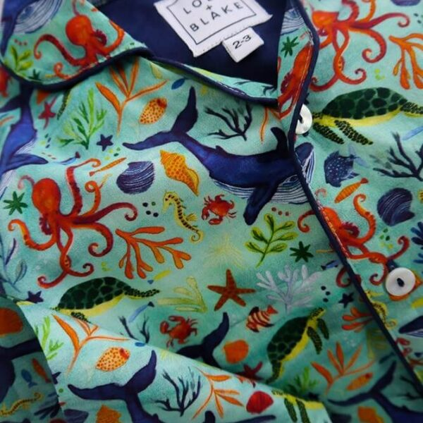 Lola + Blake kinderpyjama Under the Sea Slaapkopje