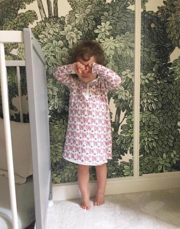 Brai Nachthemd Tijger Roze meisjes