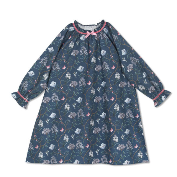 Amiki Iris Nightdress Dark Blue