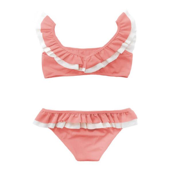 Folpetto Bikini Kate Coral Pink Ivory