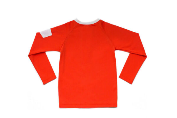 Folpetto Rash Guard Leonardo Boys Mandarinered Zwemshirt