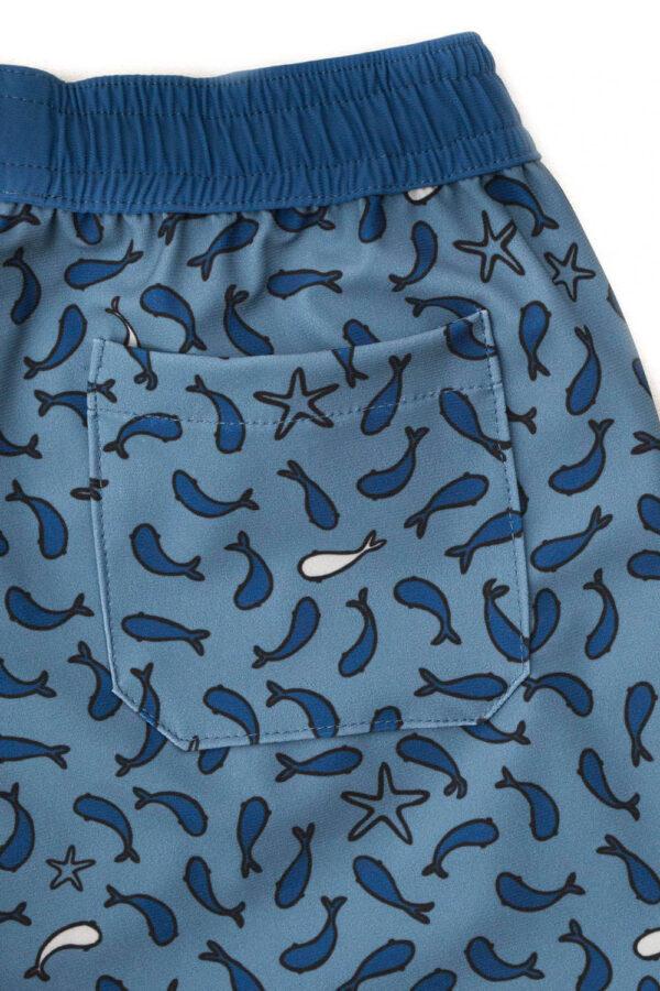 Folpetto zwemshort Tommaso Dusty blue