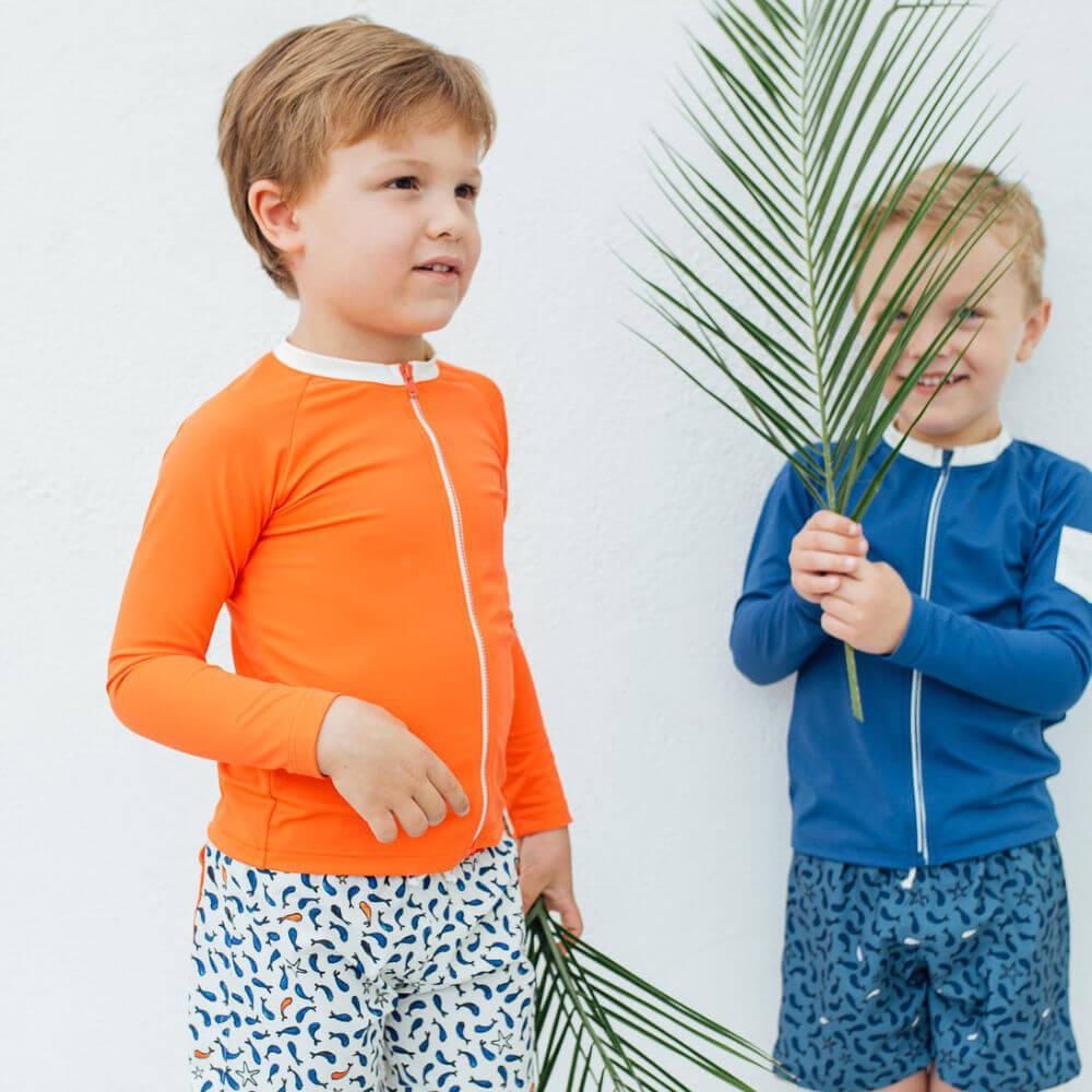 Swimwear kids op Slaapkopje Folpetto Happy Duck Brai