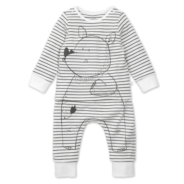Mori Pyjama Big 5 Neushoorn