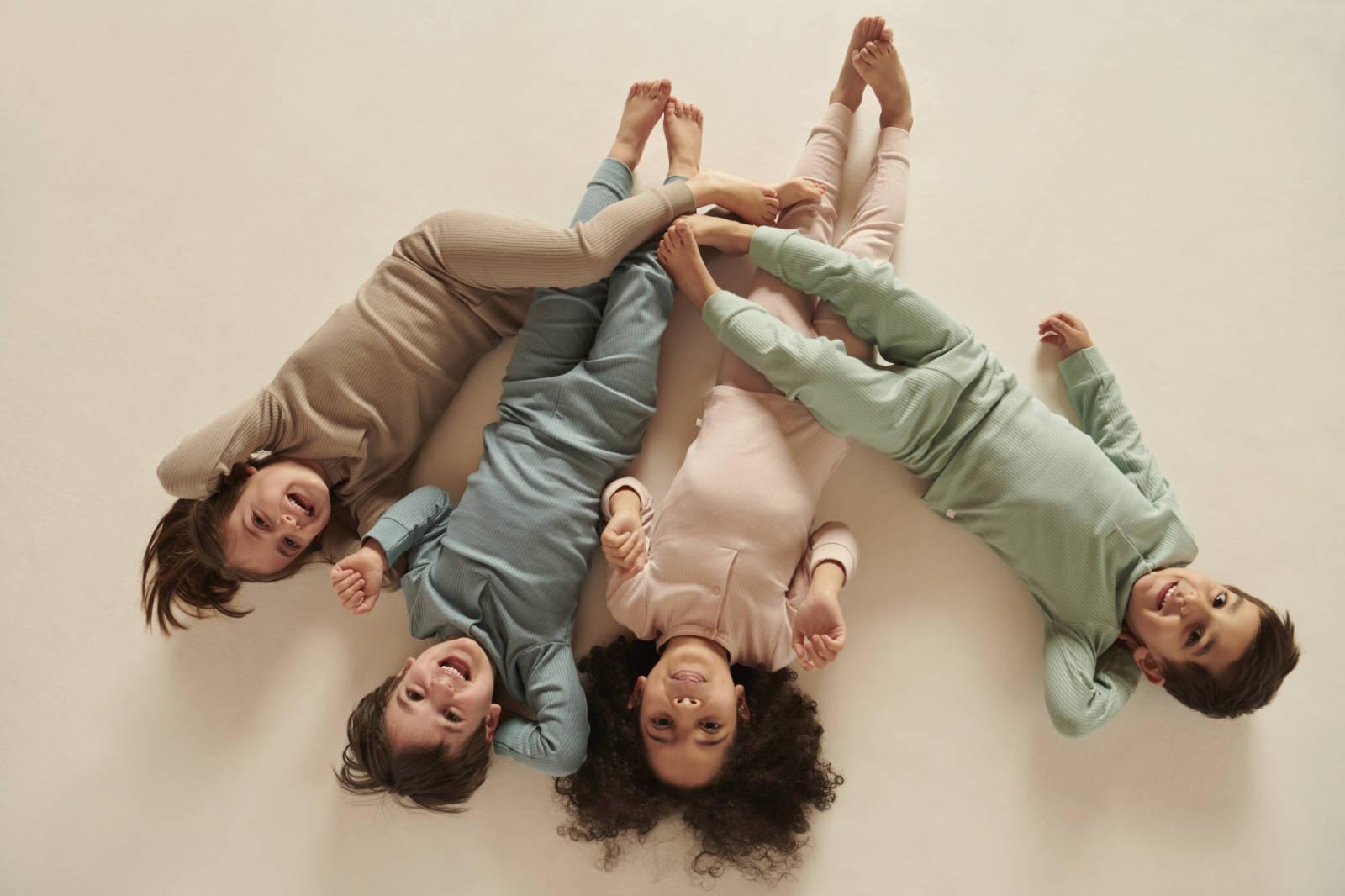 Mori Ribbed Pyjama Set