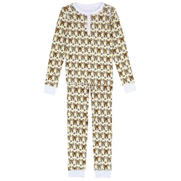 Dames pyjama Grrrrappuccino