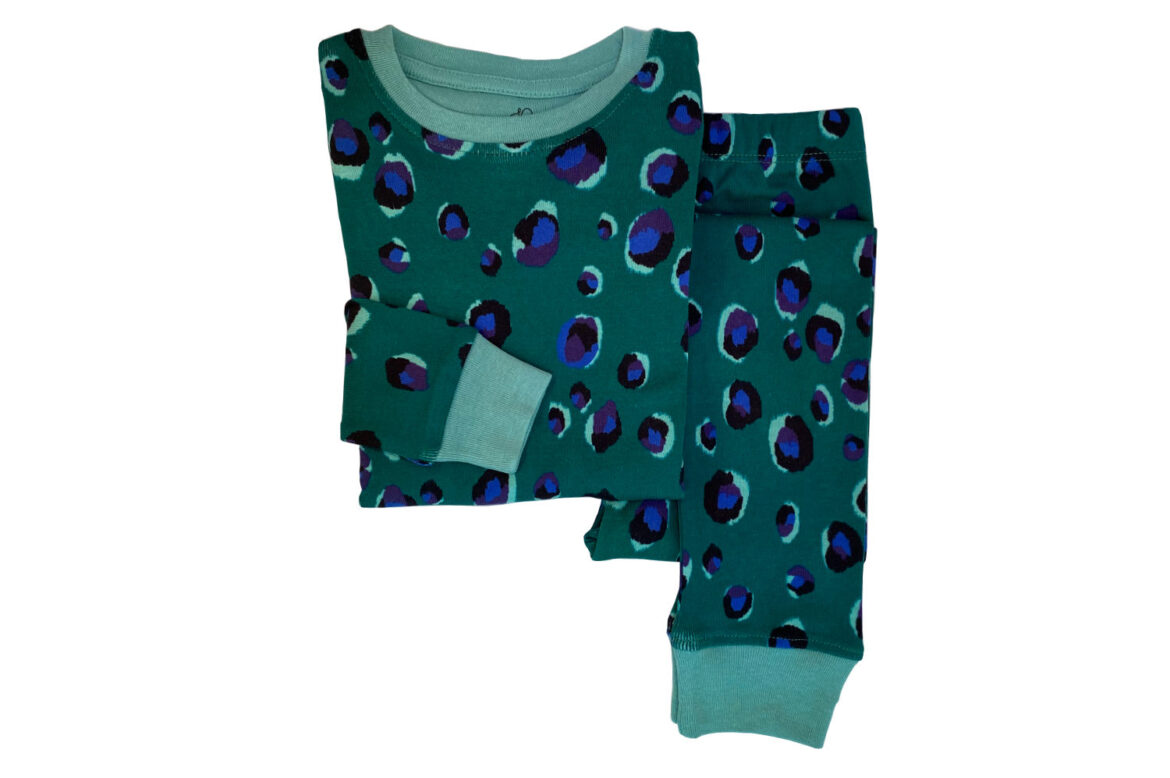 Jammie Doodles Jade Animal Pyjama kind en dames