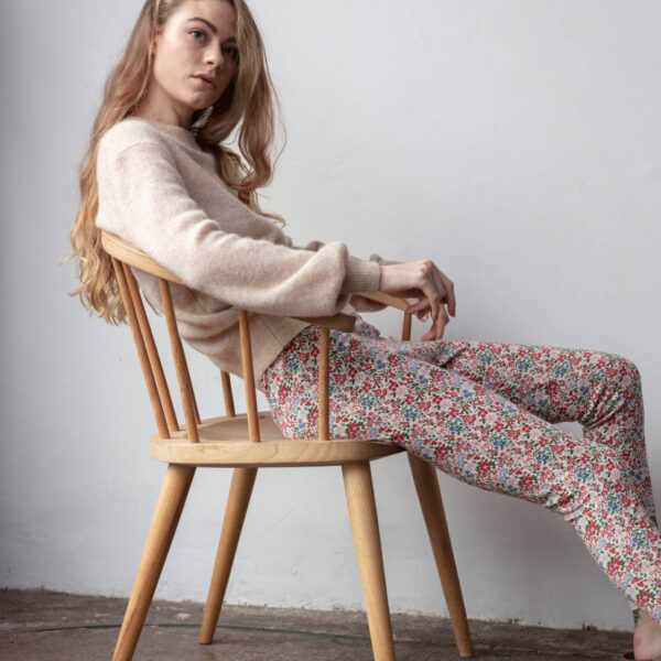 Sleepy Doe dames legging Winter Floral bij Slaapkopje