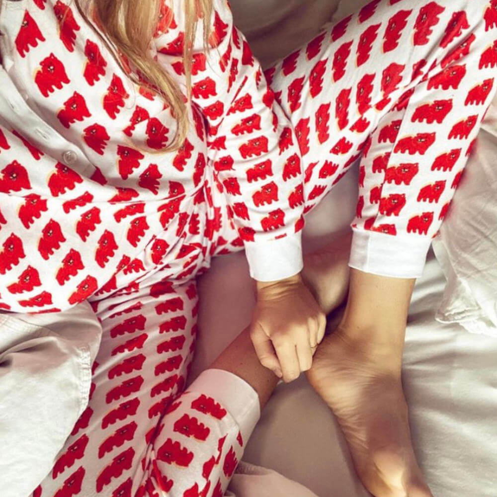 Brai Chow Time pyjama dames bij Slaapkopje