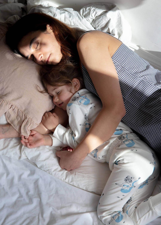 Sleepy Doe dames pyjama Woven Spring kids pyjama Mermaids