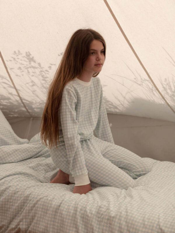 Sleepy Doe pyjama Powder Check