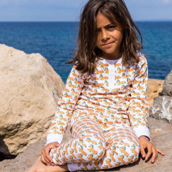 Brai Pyjama Zebrai kinderen